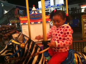 carousel ride at the wharf